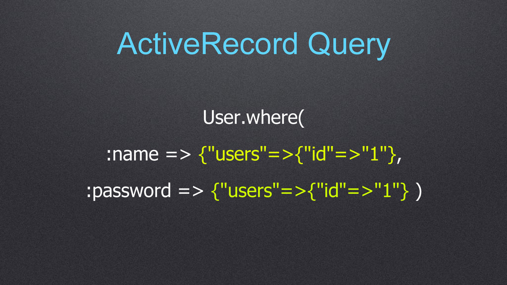 """ActiveRecord Query User.where( :name => {""""users..."""