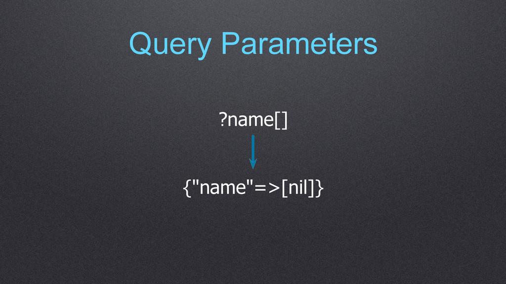 "Query Parameters ?name[] {""name""=>[nil]}"
