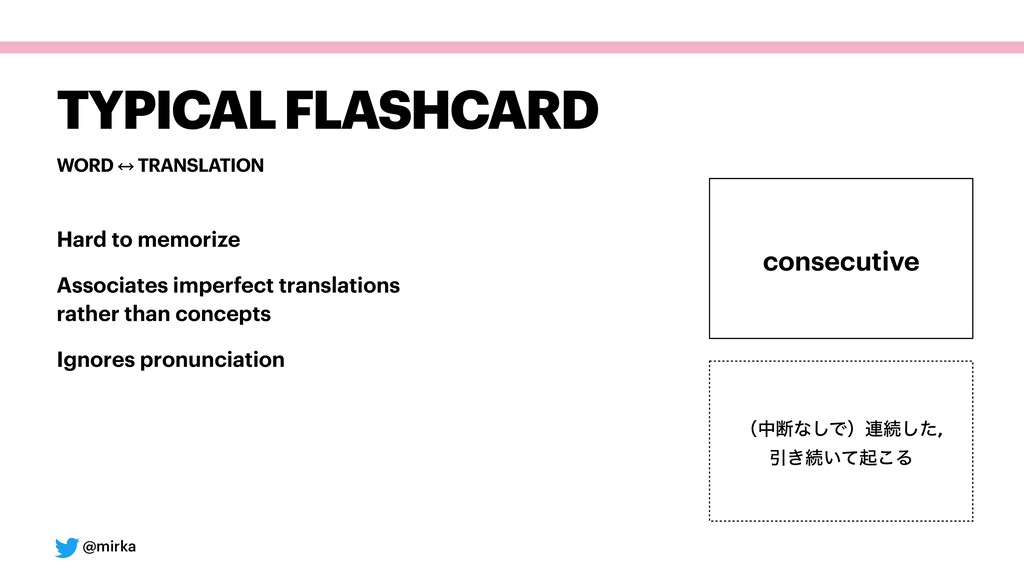 @mirka WORD 㲗 TRANSLATION TYPICAL FLASHCARD Har...