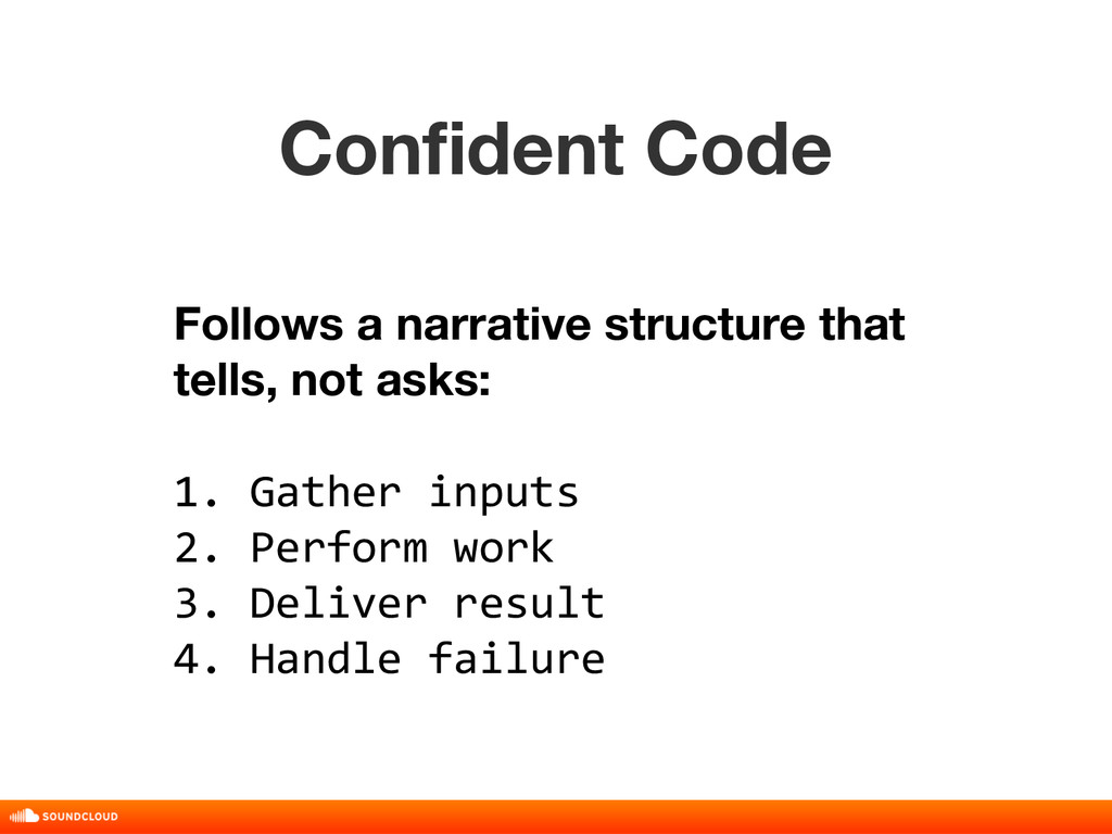 Confident Code title, date, 01 of 10 Follows a ...