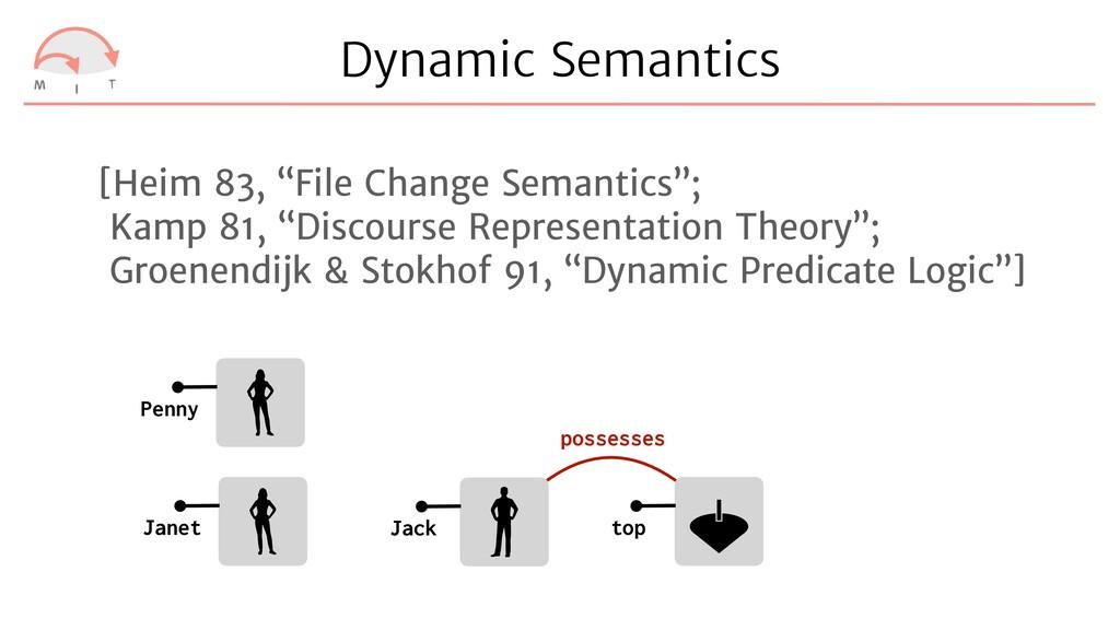 Dynamic Semantics Janet Penny Jack top possesse...