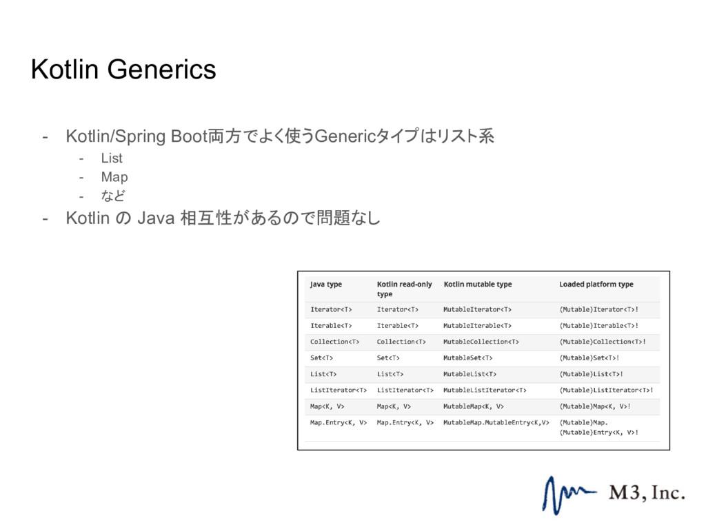 Kotlin Generics - Kotlin/Spring Boot両方でよく使うGene...