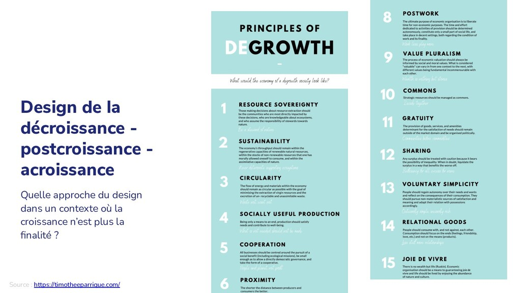 Quelle approche du design dans un contexte où l...