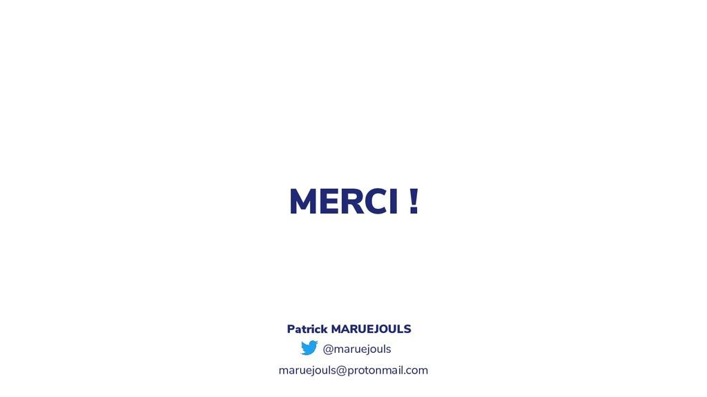MERCI ! @maruejouls Patrick MARUEJOULS maruejou...