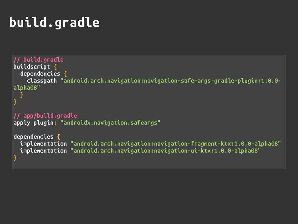 build.gradle // build.gradle buildscript { depe...