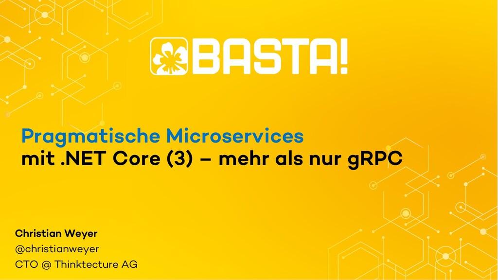 Pragmatische Microservices mit .NET Core (3) – ...