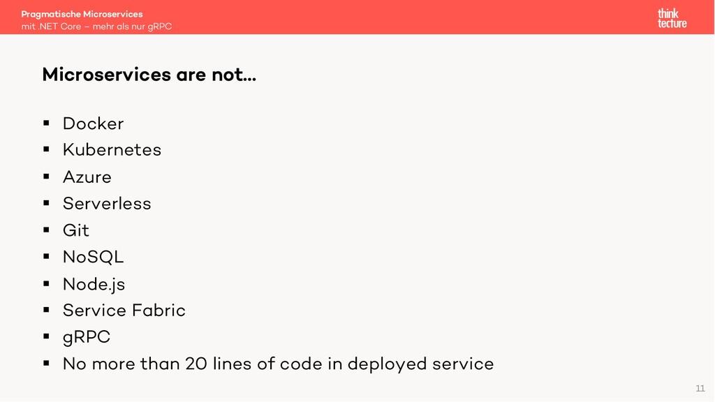 § Docker § Kubernetes § Azure § Serverless § Gi...