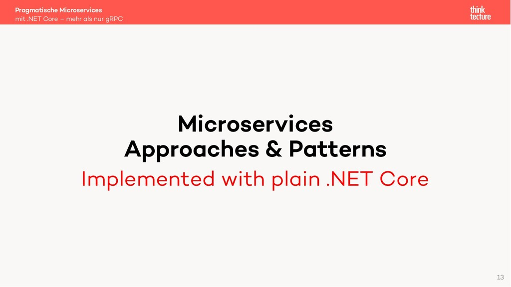 Microservices Approaches & Patterns Implemented...
