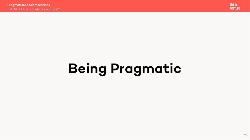 Being Pragmatic Pragmatische Microservices mit ...