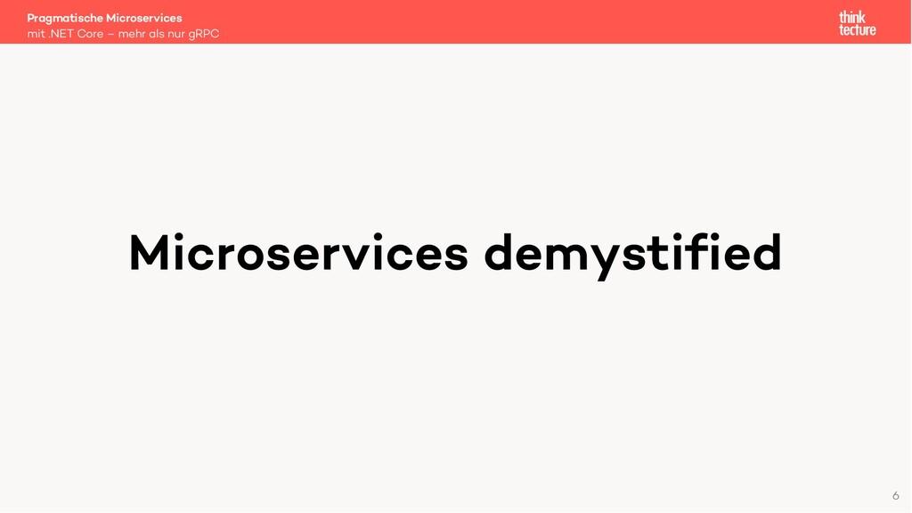 Microservices demystified Pragmatische Microser...