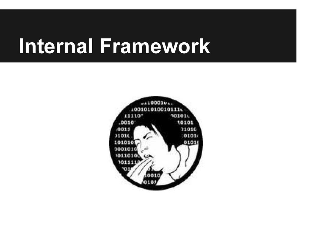 Internal Framework