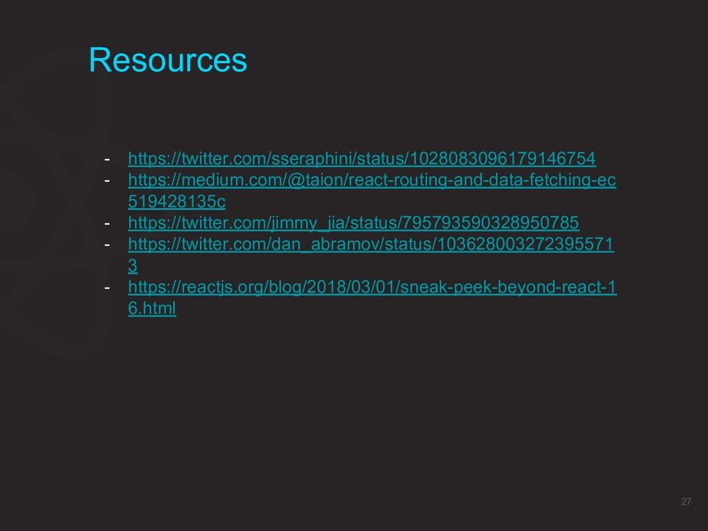 Resources 27 - https://twitter.com/sseraphini/s...