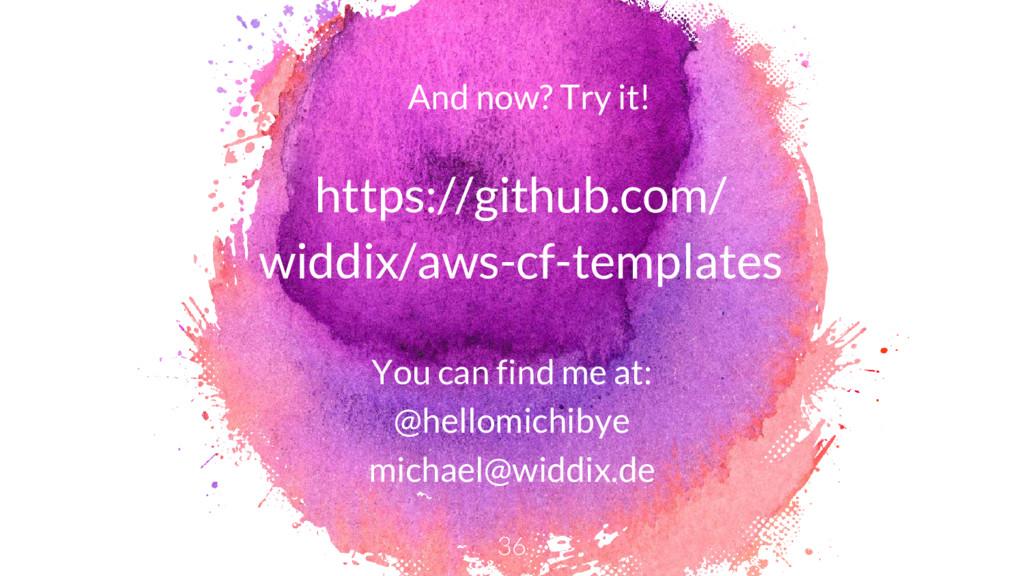 https://github.com/ widdix/aws-cf-templates You...