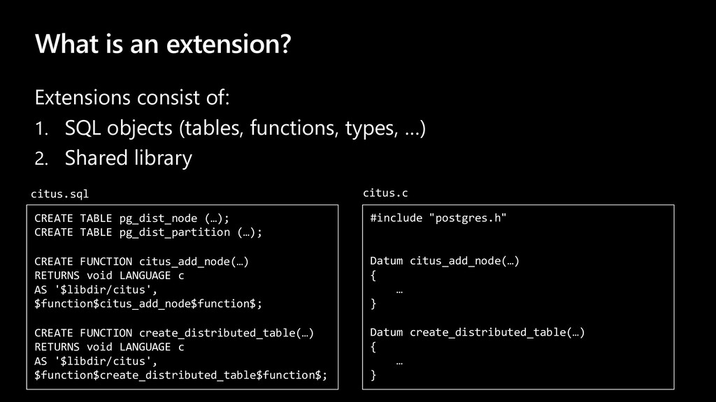 What is an extension? Extensions consist of: 1....