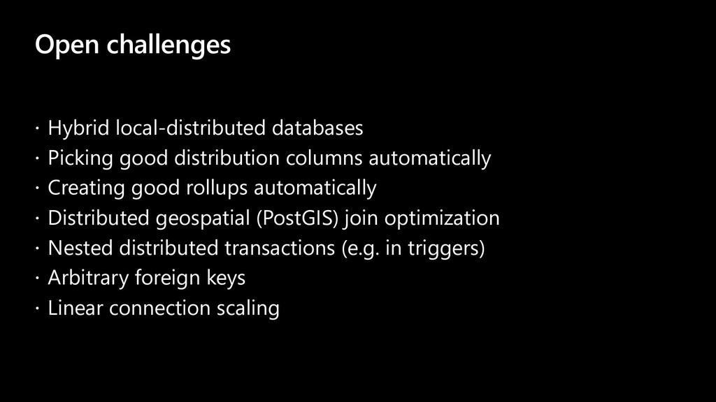 Open challenges ž Hybrid local-distributed data...
