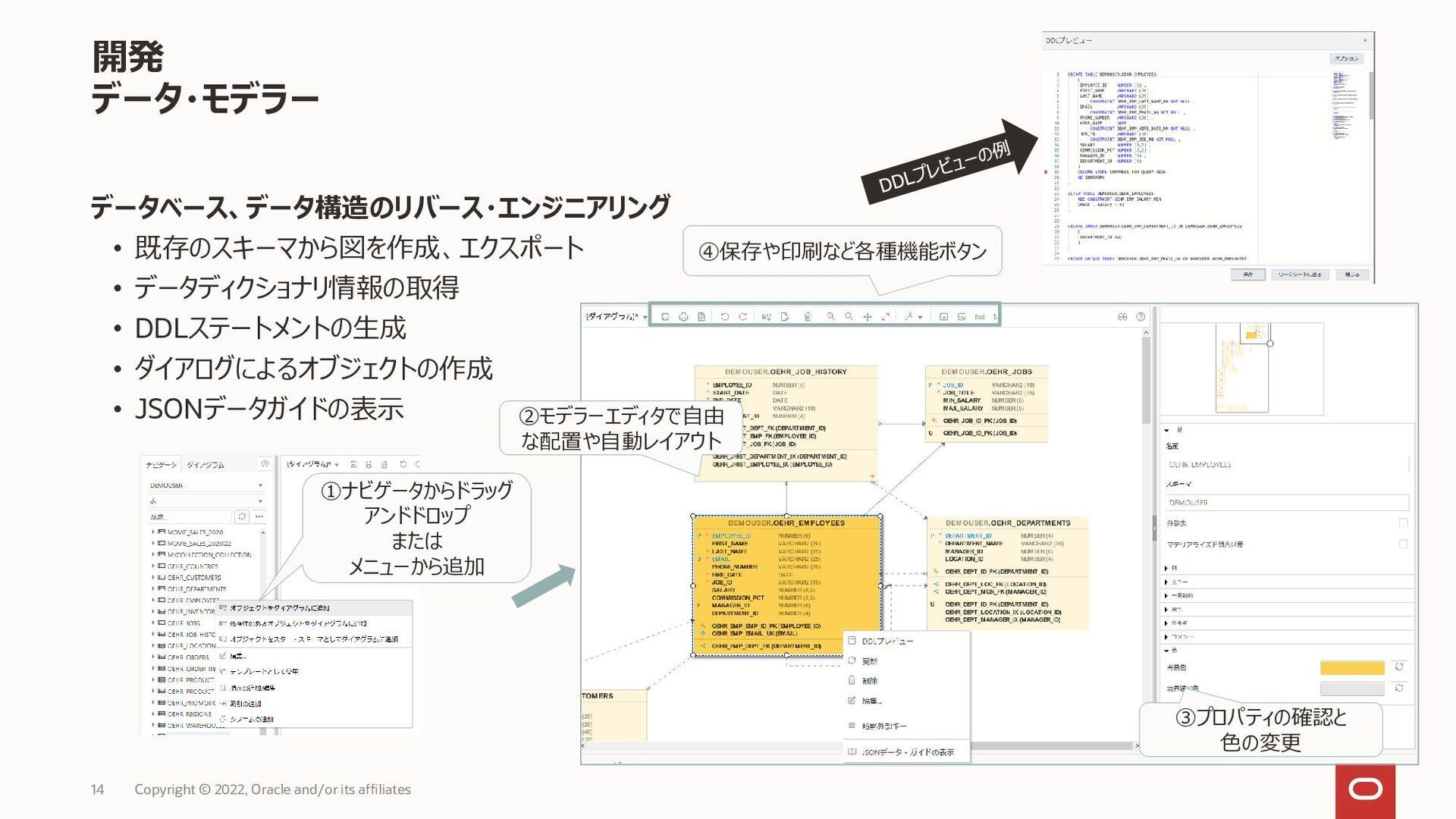 • Oracle REST Data Servicesを使用して、Oracle Autonom...