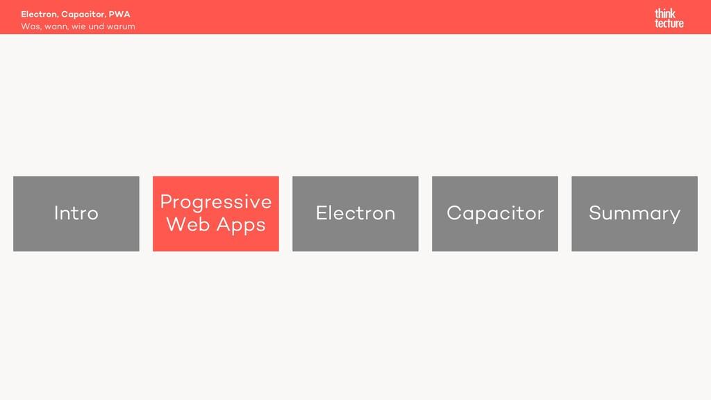 Intro Progressive Web Apps Electron Capacitor S...