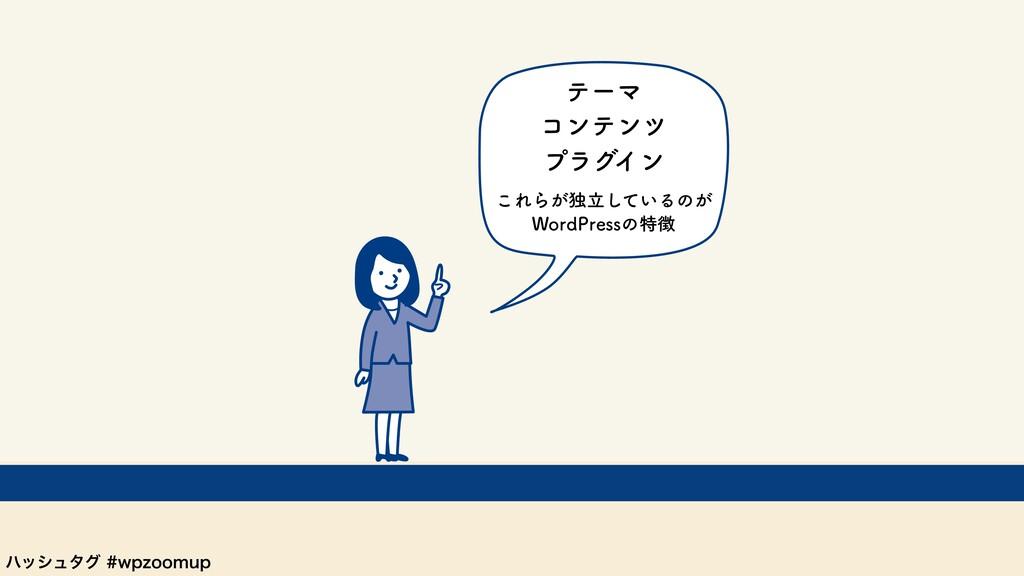 ϋογϡλάXQ[PPNVQ ͜ΕΒ͕ಠཱ͍ͯ͠Δͷ͕ 8PSE1SFTTͷಛ ϓϥά...