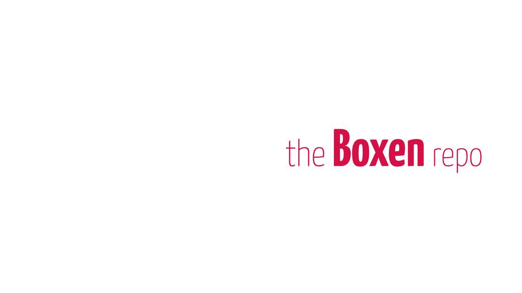 the Boxen repo