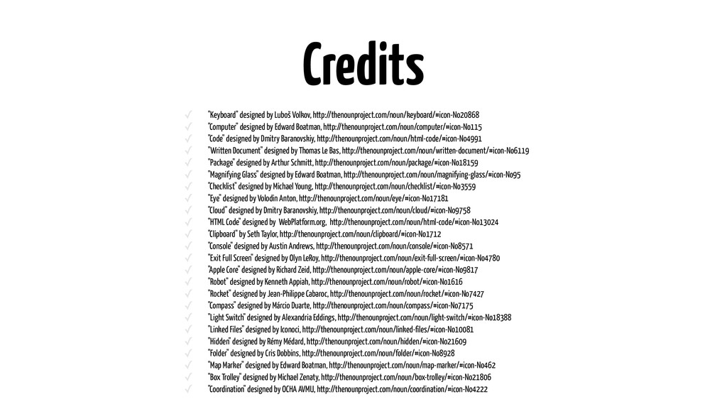 "Credits ✓ ""Keyboard"" designed by Luboš Volkov, ..."