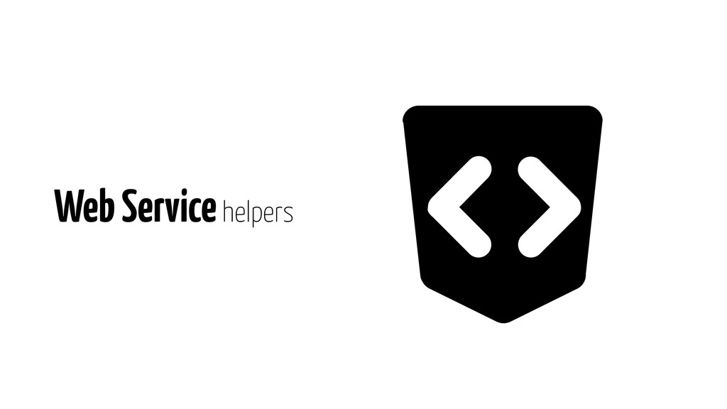 Web Service helpers