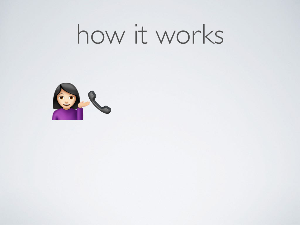 """how it works  """""""