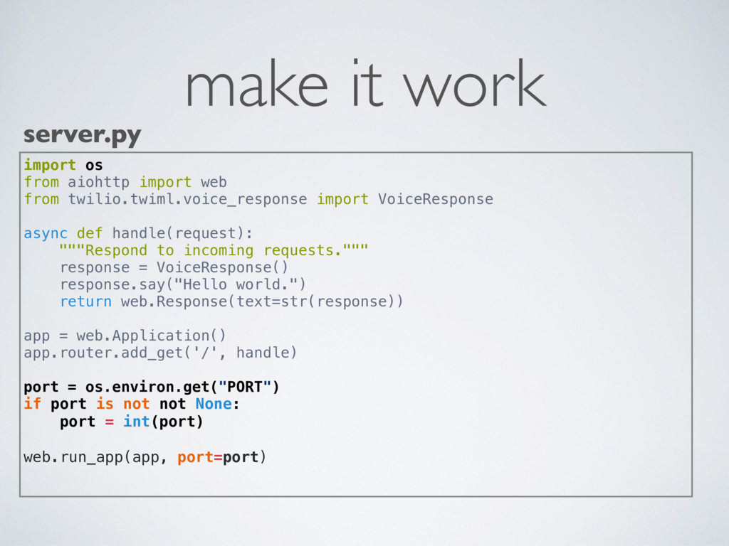 make it work server.py import os from aiohttp i...