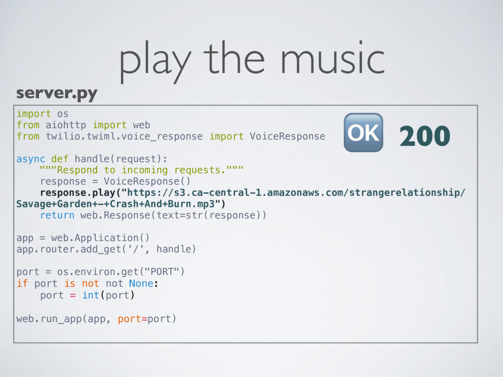 play the music server.py import os from aiohttp...