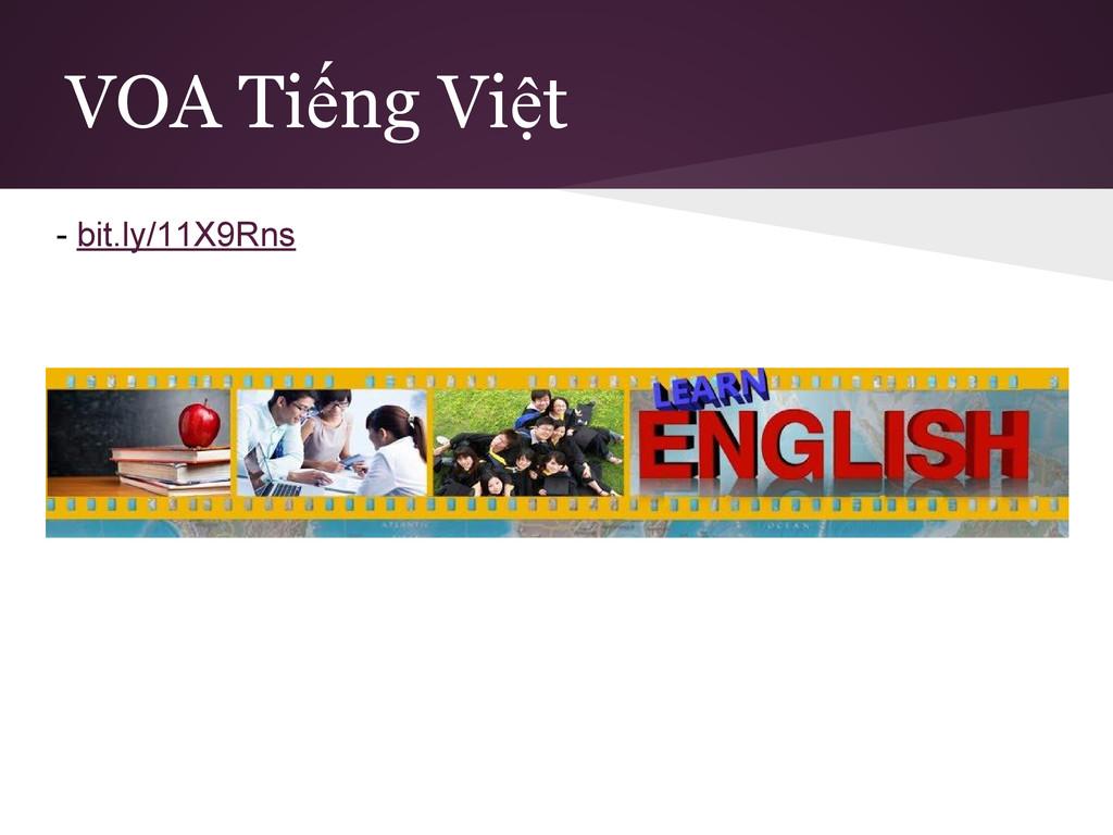 VOA Tiếng Việt - bit.ly/11X9Rns