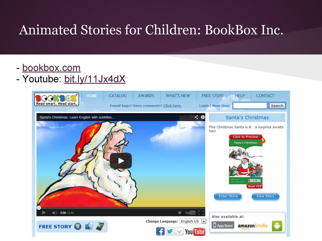 Animated Stories for Children: BookBox Inc. - b...