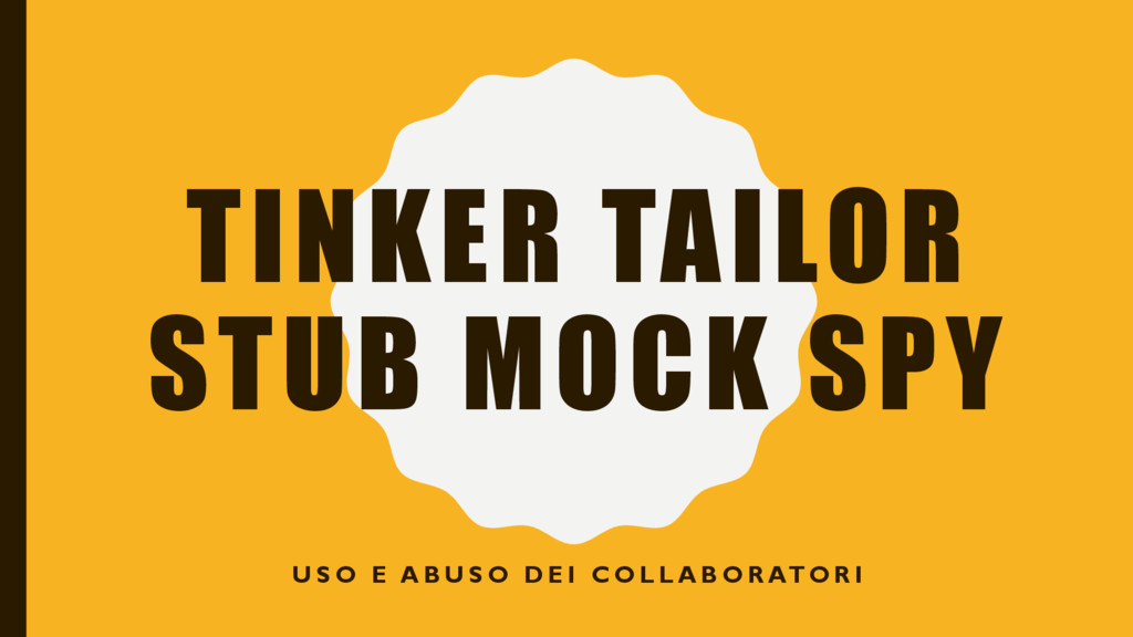TINKER TAILOR STUB MOCK SPY U S O E A B U S O D...