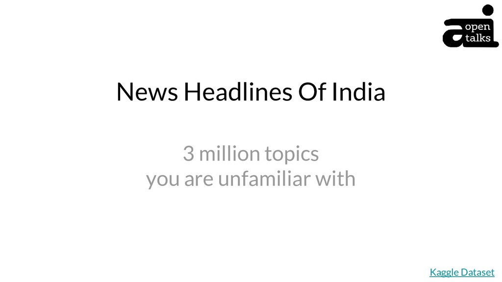 News Headlines Of India 3 million topics you ar...