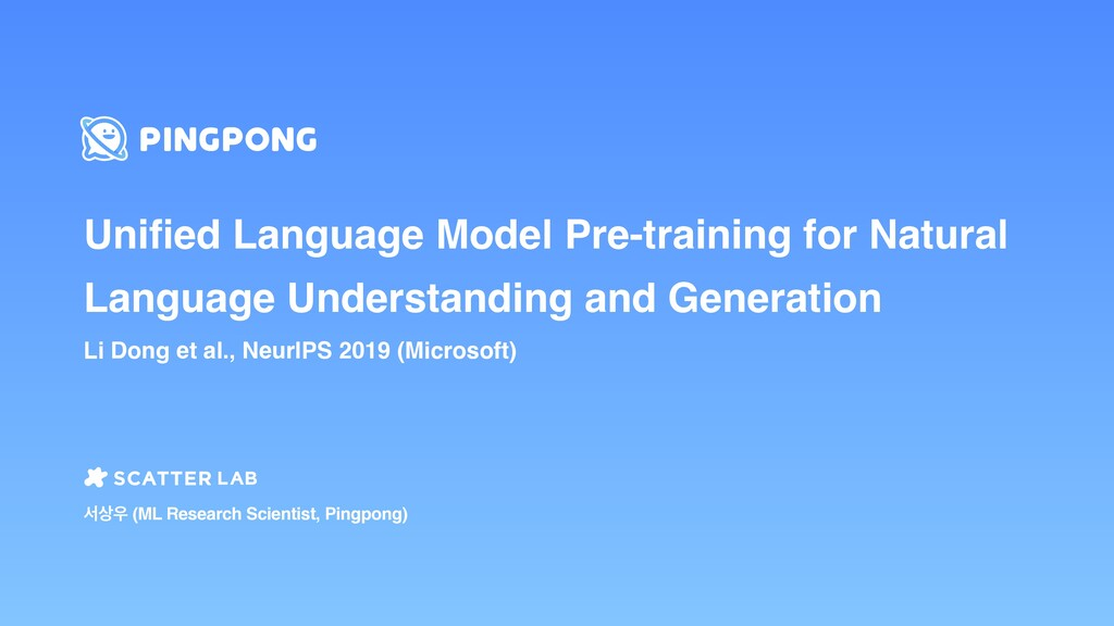 Unified Language Model Pre-training for Natural ...