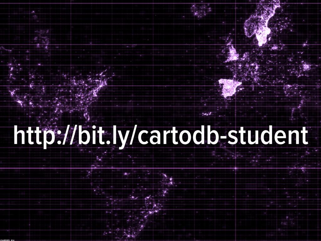 http://bit.ly/cartodb-student