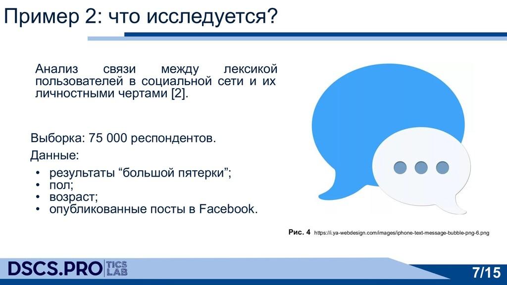 Анализ связи между лексикой пользователей в соц...