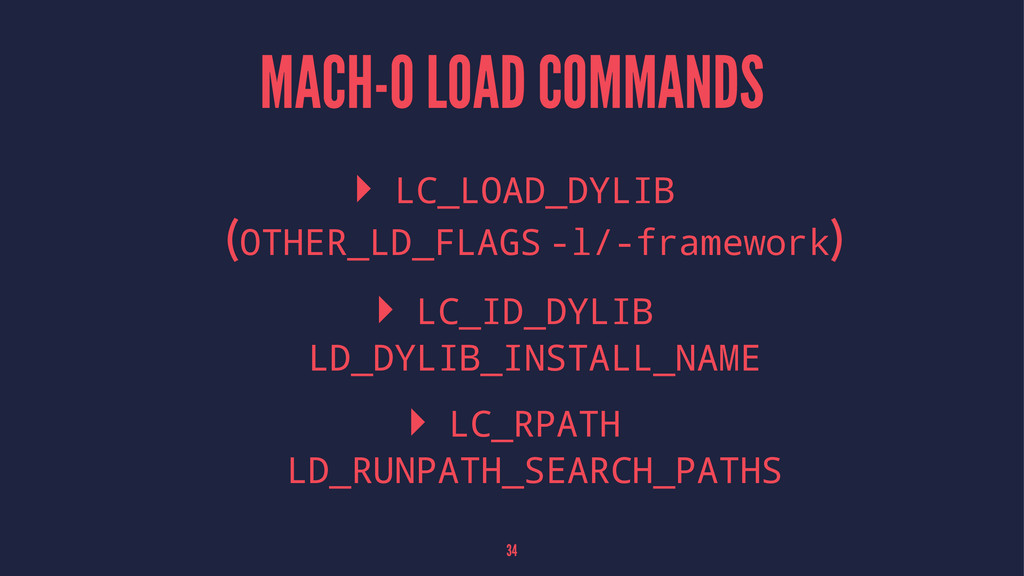 MACH-O LOAD COMMANDS ▸ LC_LOAD_DYLIB (OTHER_LD_...