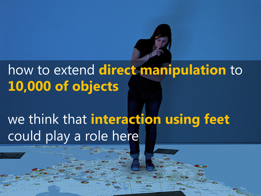how to extend direct manipulation to 10,000 of ...