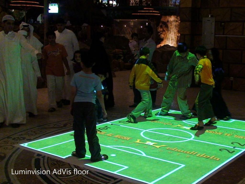 Luminvision AdVis floor