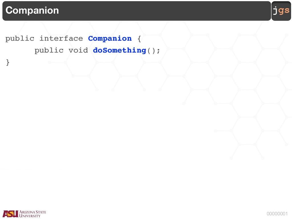jgs 00000001 Companion public interface Compani...