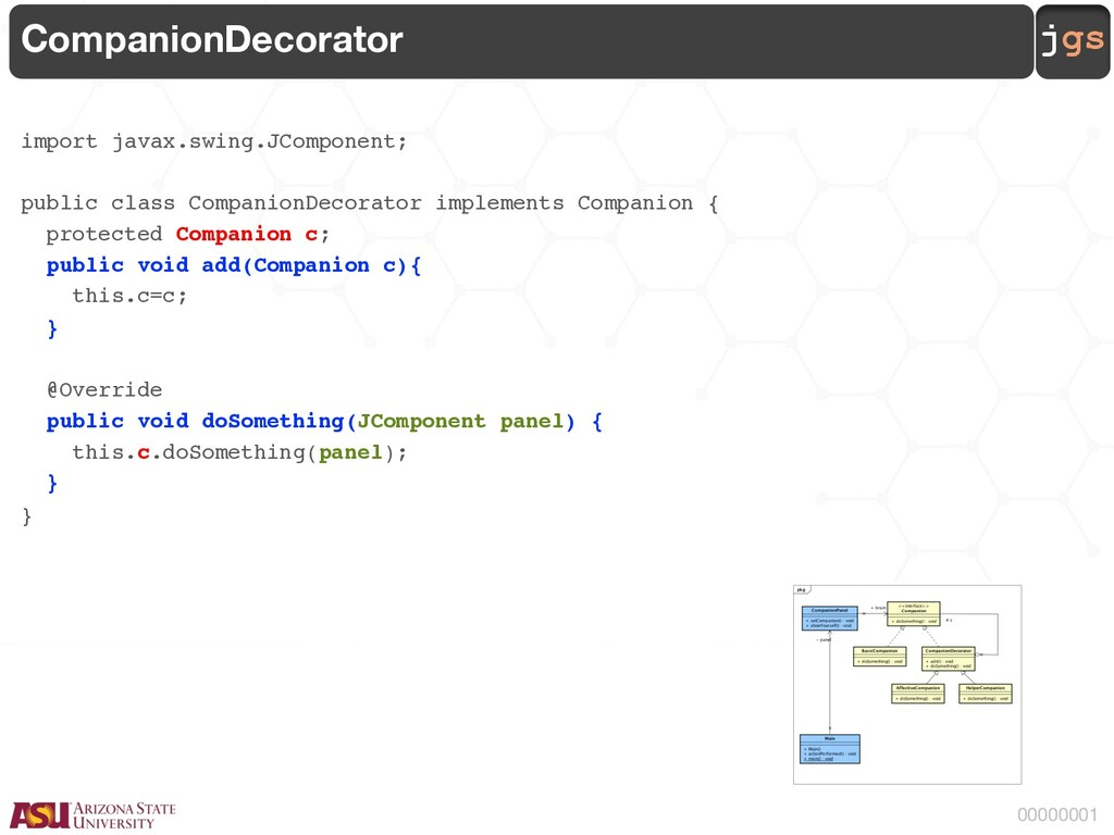 jgs 00000001 CompanionDecorator import javax.sw...