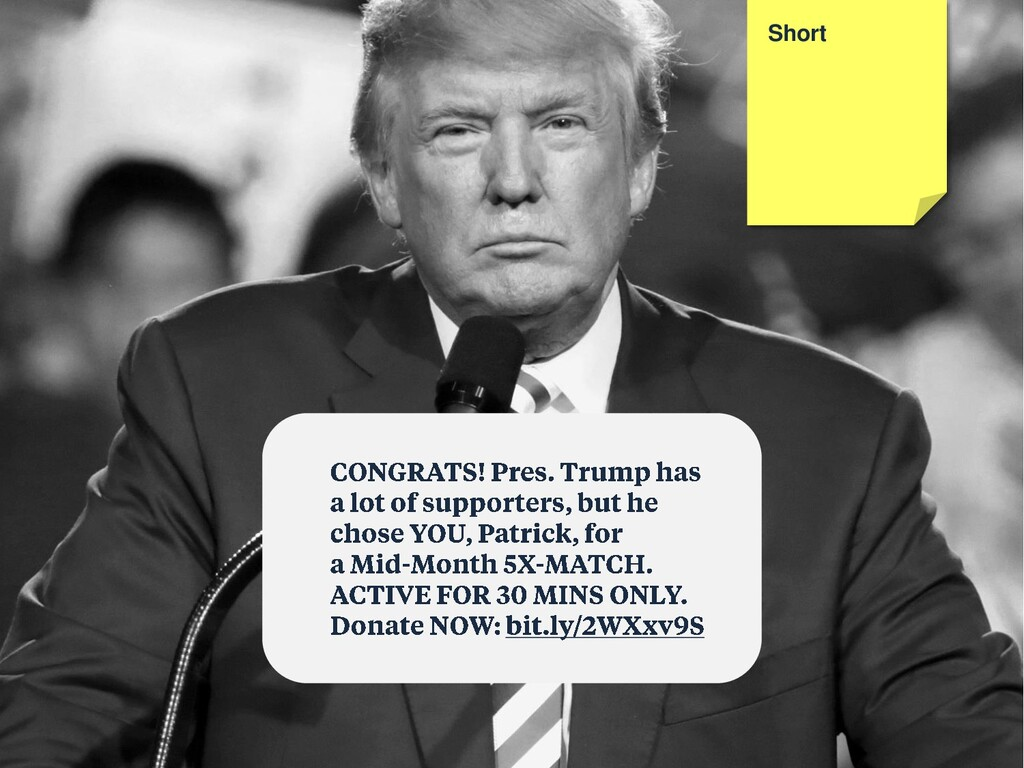 Short Congratulatory Personal Exploding Urgent
