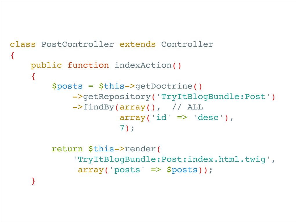 class PostController extends Controller { publi...
