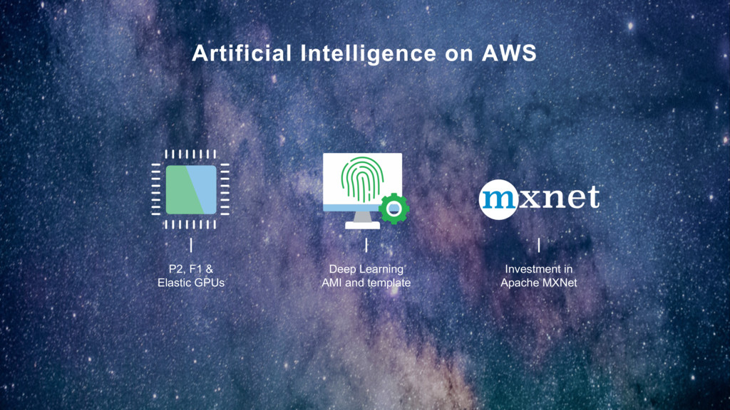 Artificial Intelligence on AWS P2, F1 & Elastic...