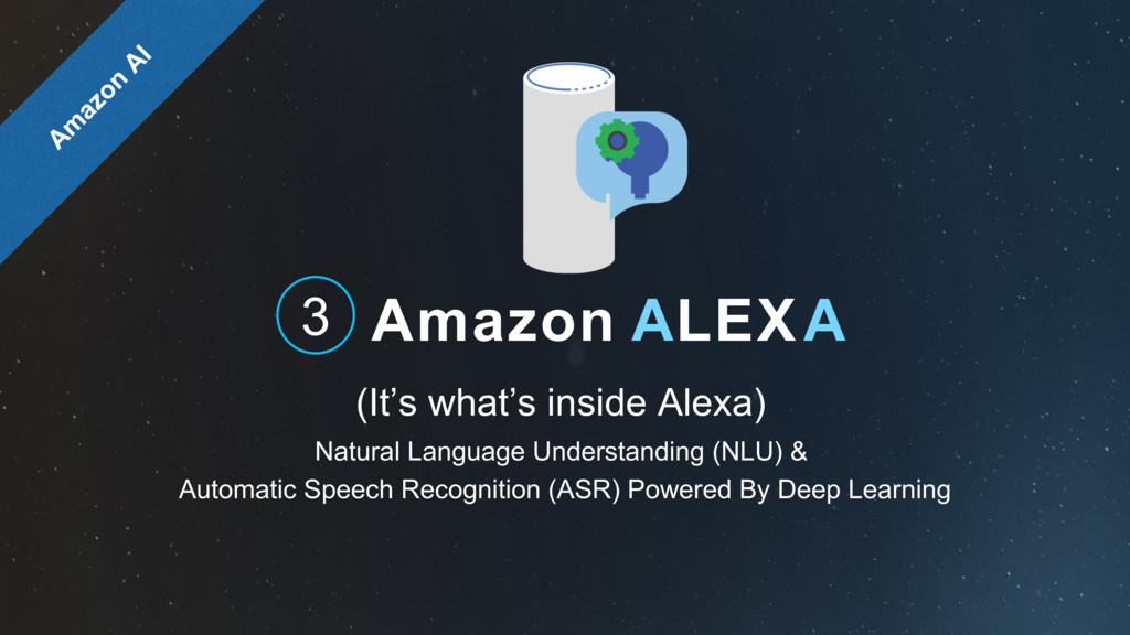 Amazon ALEXA (It's what's inside Alexa) 3 Natur...