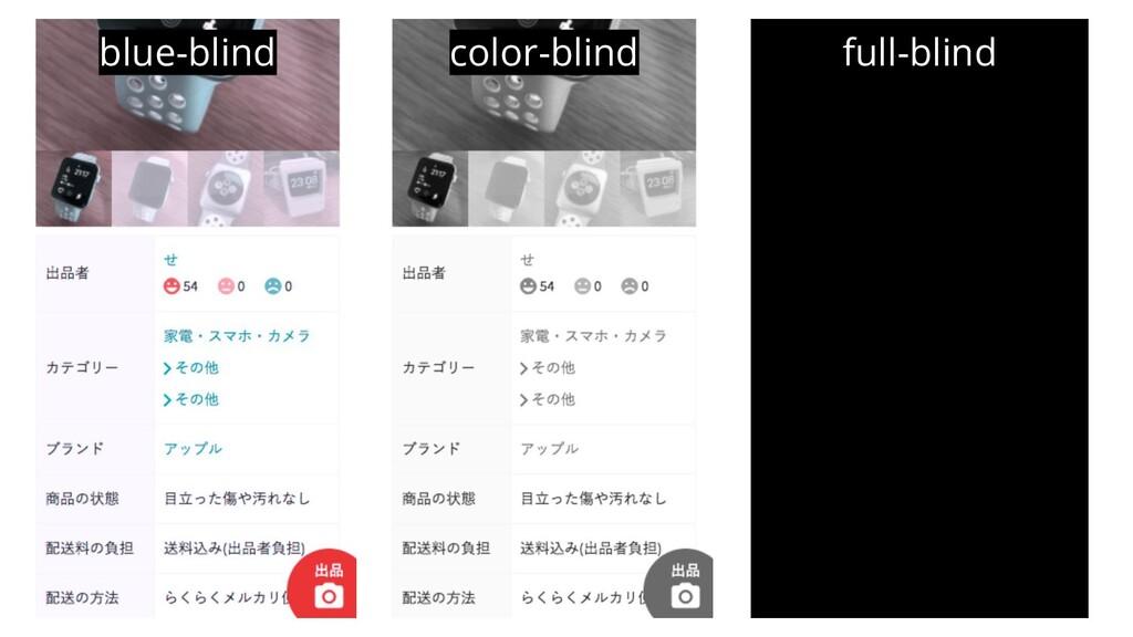 color-blind blue-blind full-blind
