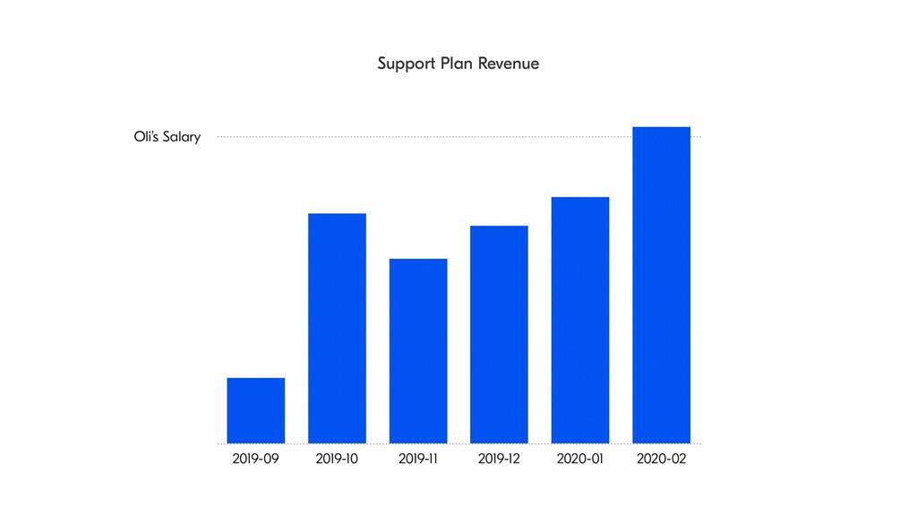 Support Plan Revenue