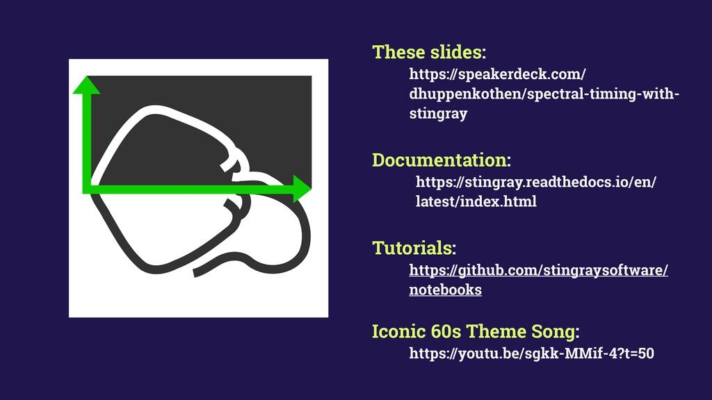 These slides: https://speakerdeck.com/ dhuppenk...