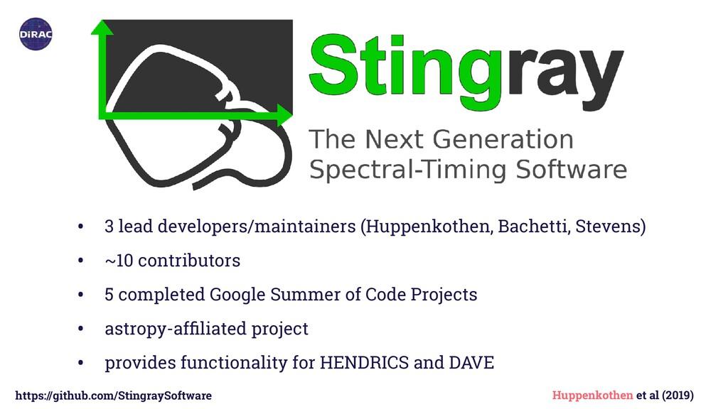 https://github.com/StingraySoftware • 3 lead de...