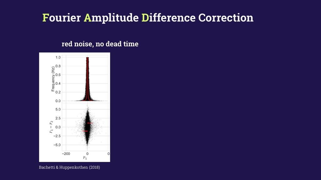 Fourier Amplitude Difference Correction Bachett...