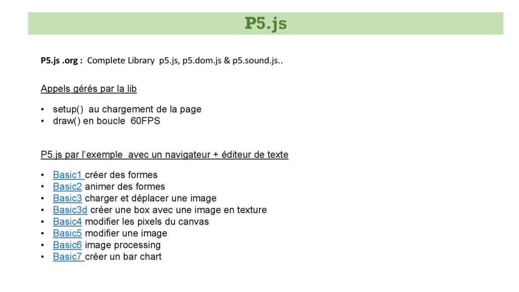 P5.js .org : Complete Library p5.js, p5.dom.js ...